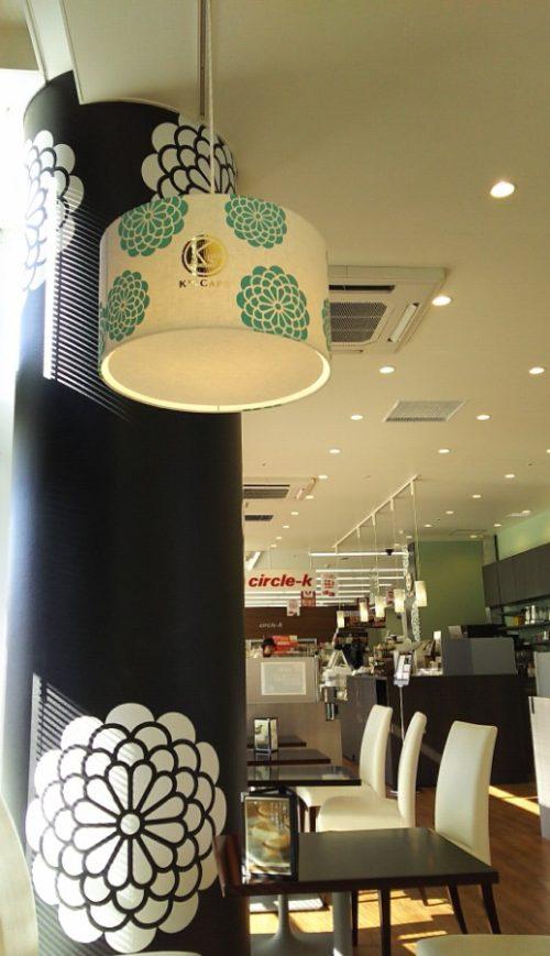 サークルK岡崎りぶら店 K's CAFE店内