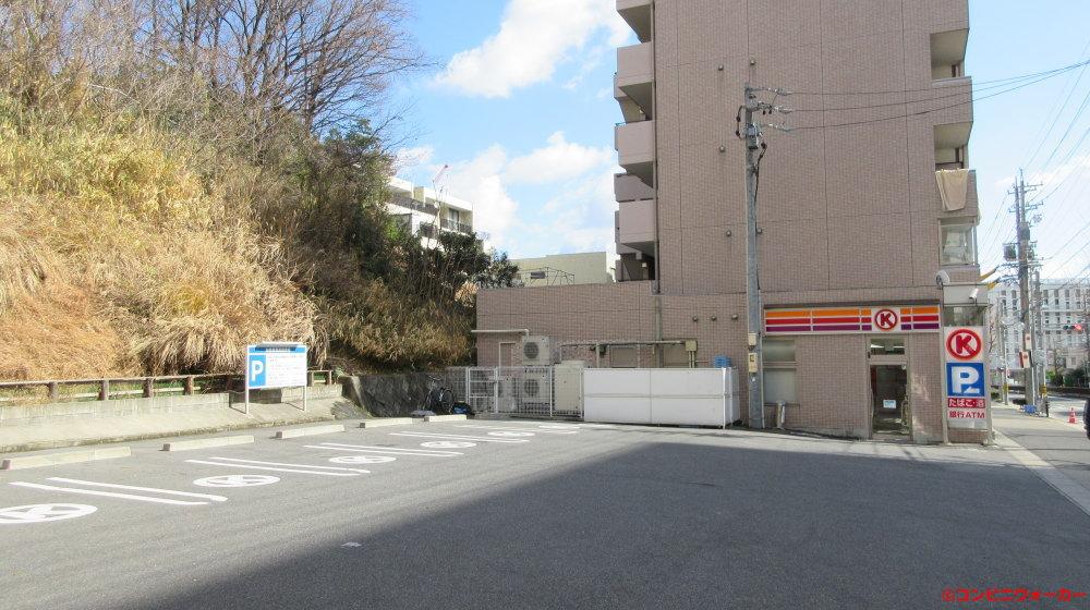 サークルK名東本通一丁目店 駐車場
