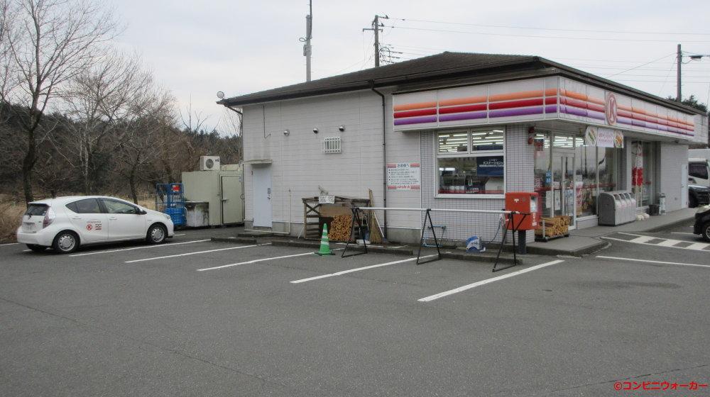 サークルK富士宮朝霧店とサークルKサンクス営業車