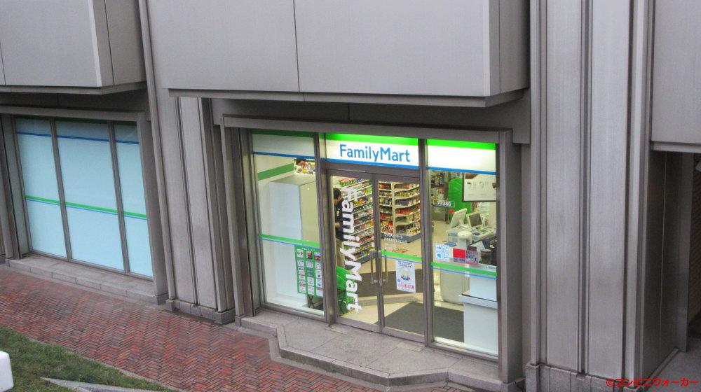 ファミリーマート内幸町富国生命ビル店 ビル外出入口