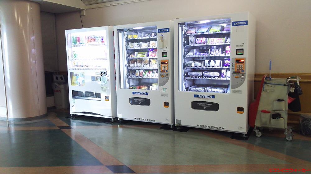 ローソン豊橋市民病院店 1階自販機