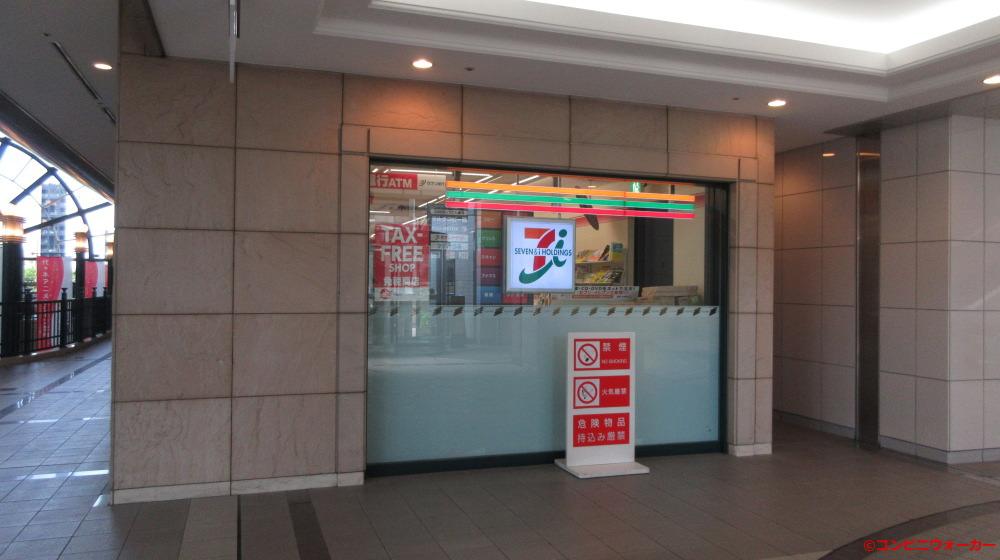 セブンイレブン天王洲シーフォートスクエア店 店舗横ロゴ看板