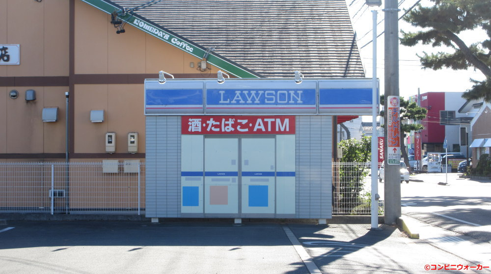 ローソン浜松姫街道店 駐車場看板