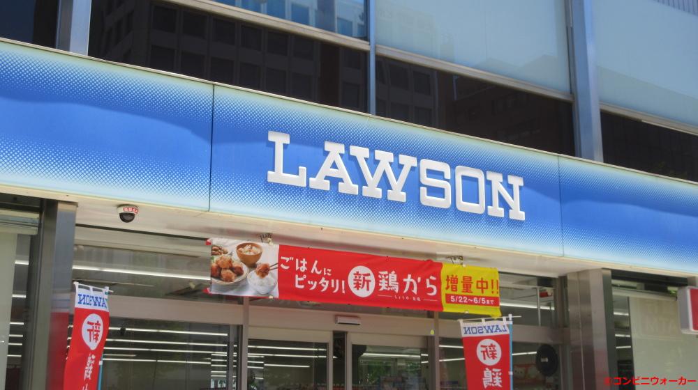 ローソン札幌大通西十丁目店 ファサード看板
