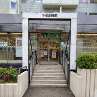 セブンイレブン渋谷公園通り店 入口ゲート