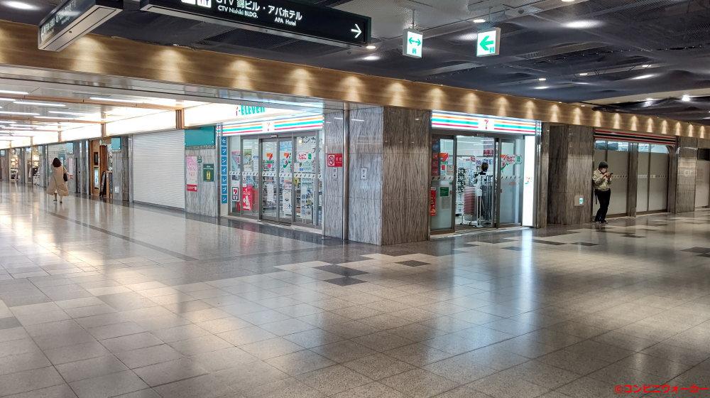 セブンイレブン名古屋栄森の地下街店